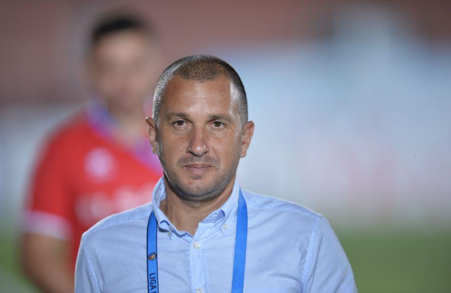 """Costel Enache, uluit după ce echipa sa a ratat 3 penalty-uri: """"Dacă așteptați să vă pot explica asta, înseamnă că aveți foarte mari pretenții de la mine"""""""
