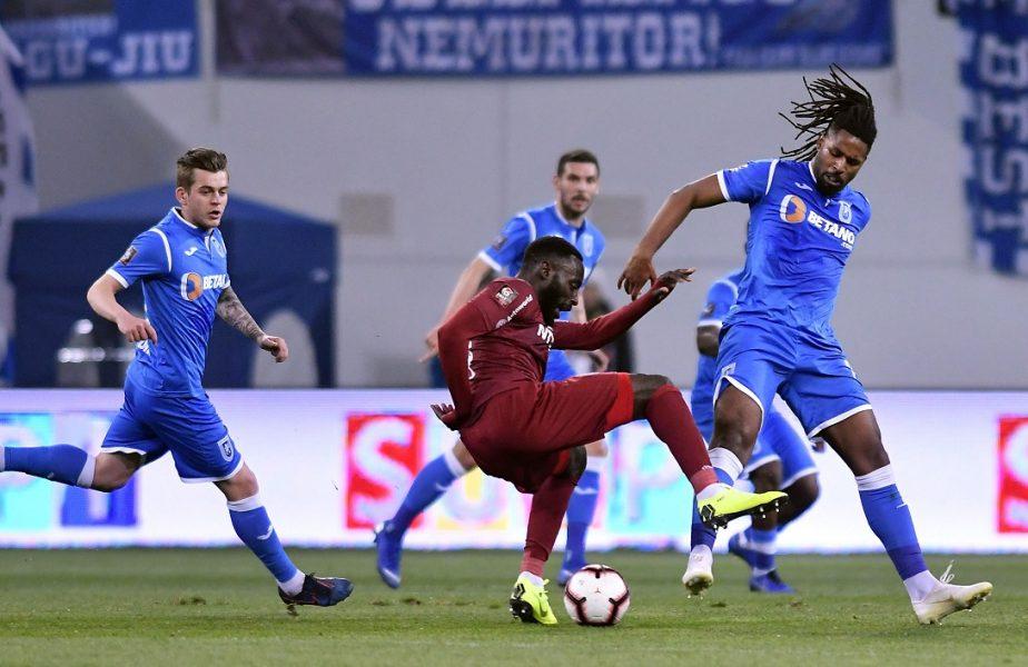 Craiova s-a despărţit de un jucător chiar în ziua meciului cu FCSB