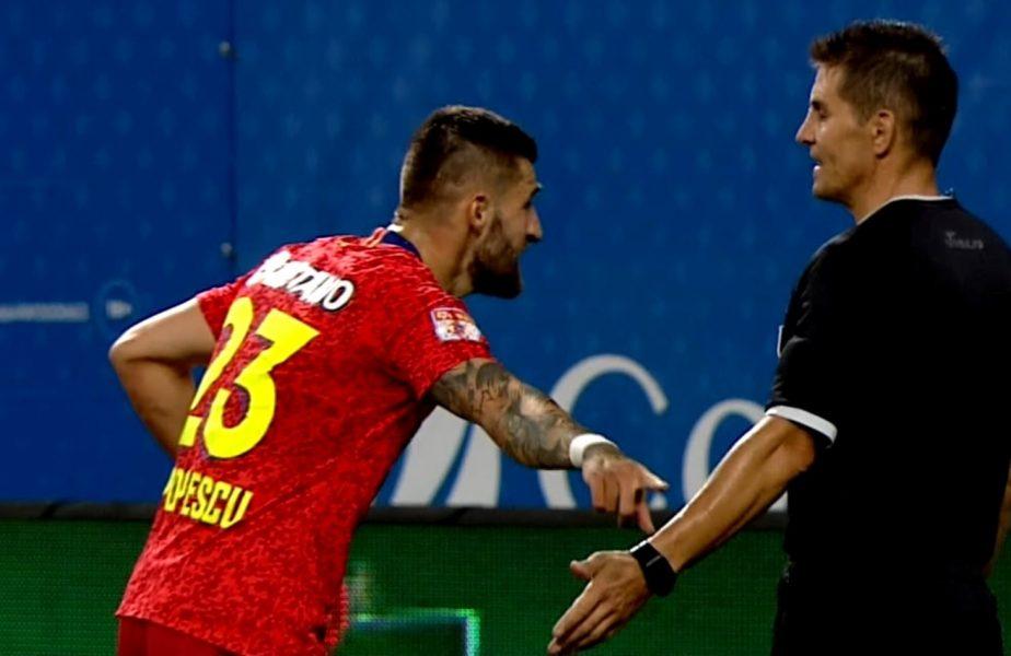 """Ce penalty a comis Ovidiu """"Ramos"""" Popescu! Mihăilă l-a păcălit uşor şi Cicâldău a deschis scorul"""