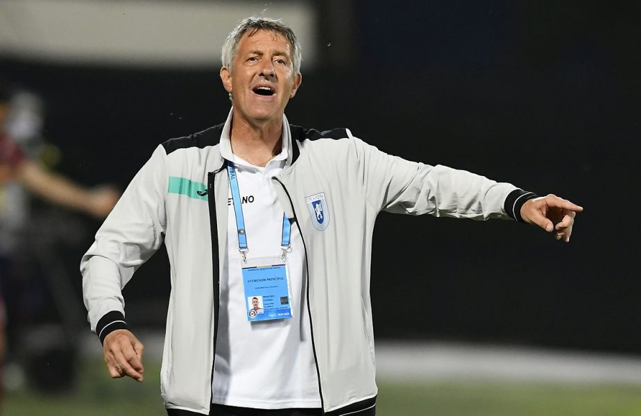 """Oltenii nu se consideră deja campioni. Cristiano Bergodi tremură înaintea meciului cu Botoşani. """"Îmi este frică! Să rămânem cu picioarele pe pământ"""""""