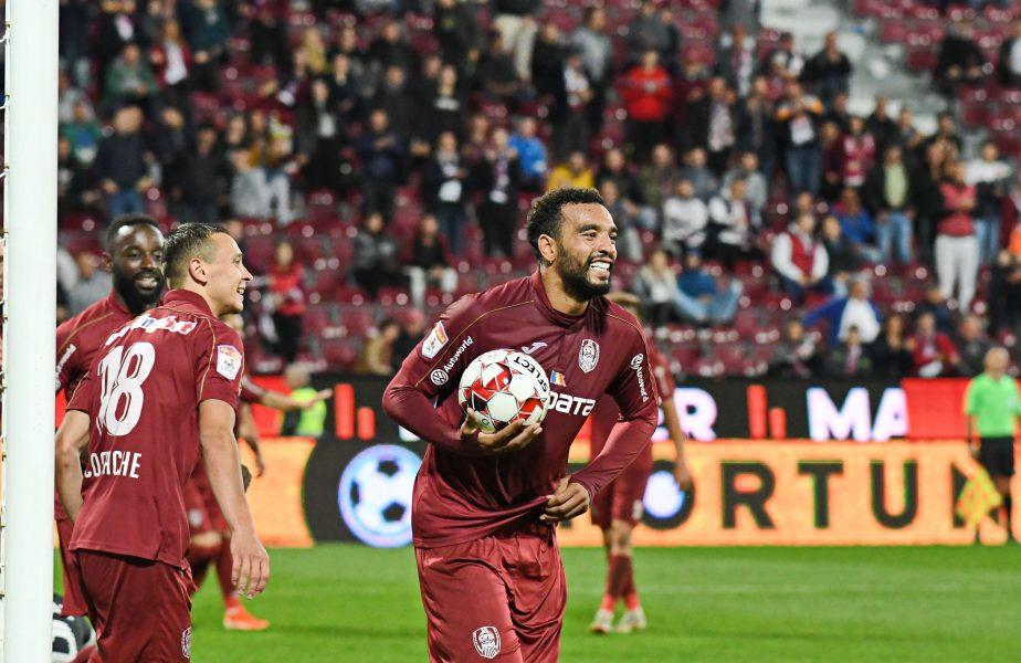 CFR Cluj – Gaz Metan 2-0. Gazdele îl pierd pe Boli, dar revin la un punct în spatele Craiovei