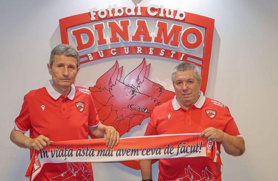OFICIAL | A venit SMURD-ul în Ştefan cel Mare! Dinamo are un nou antrenor. Adrian Mihalcea, înlocuit cu Mulţescu