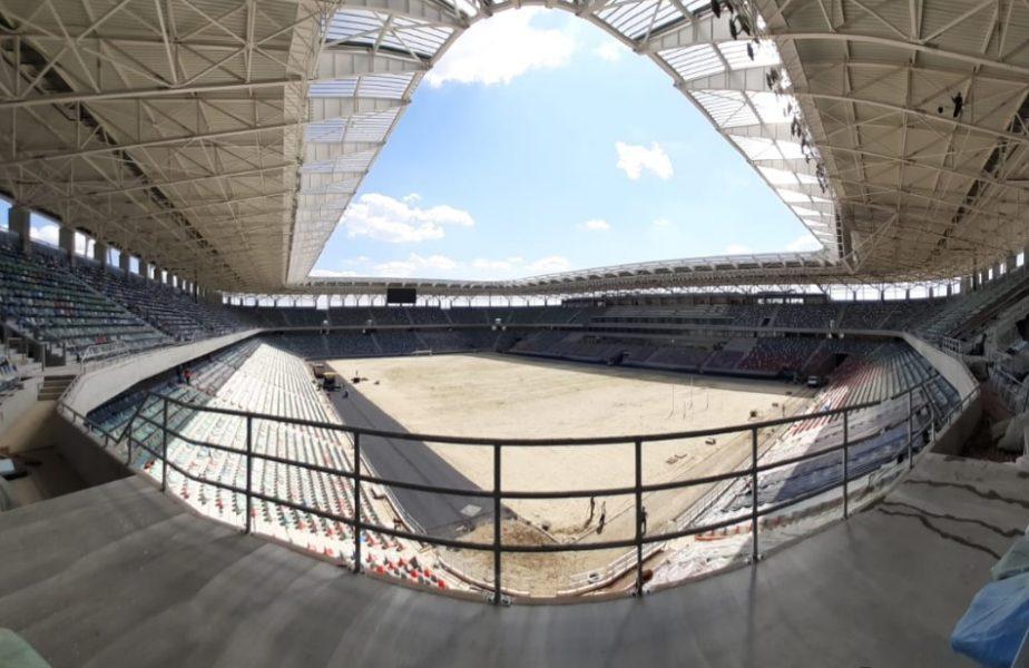 Noi imagini de la stadionul Steaua! Arena este aproape de a fi finalizată. Când se poate intra pe gazon