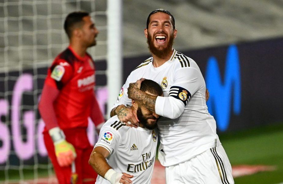 Real Madrid-Villarreal 2-1. Gruparea blanco este noua campioană a Spaniei!!! Starurile lui Zidane au câştigat trofeul în La Liga