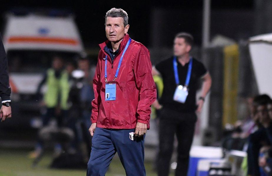 """Mulţescu """"a luat foc"""" la adresa jucătorilor săi: """"Sunt scandalizat, este lipsă de responsabilitate"""""""