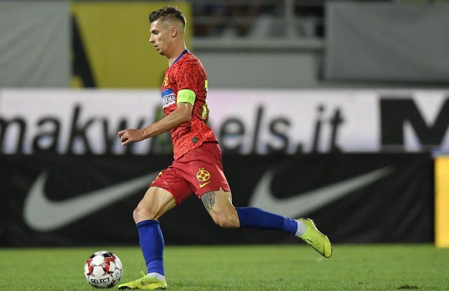 """Căpitanul lui FCSB, făcut praf de un fost jucător şi preşedinte al roş-albaştrilor. """"Tănase are piciorul stâng doar pentru tramvai"""""""