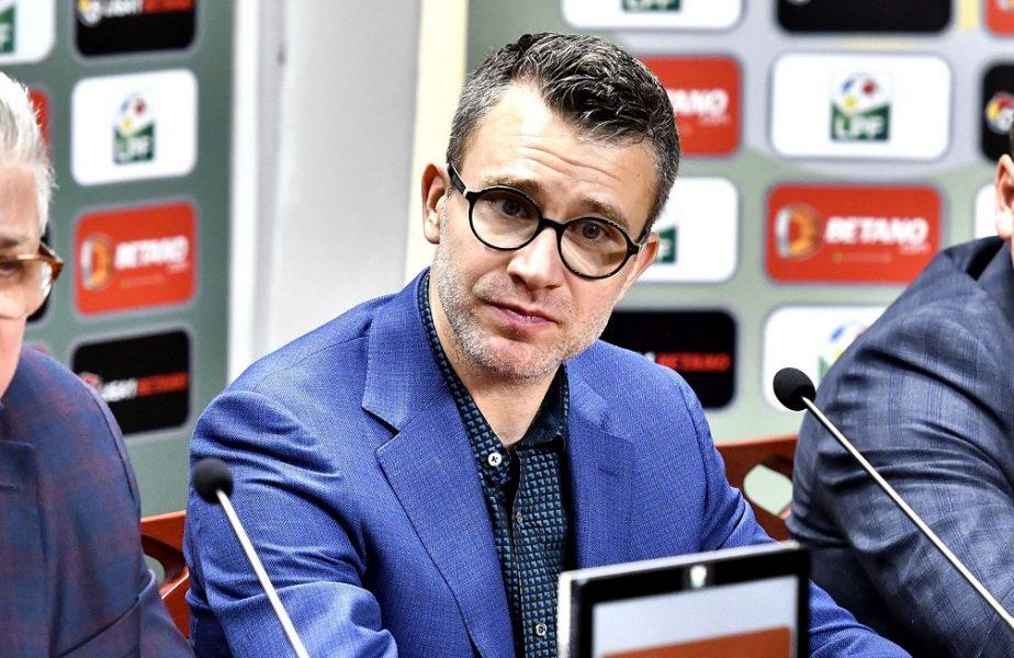 """Justin Ștefan, mesaj categoric pentru conducătorii din Liga 1: """"Fotbalul profesionist nu va fi salvat de statul român!"""""""