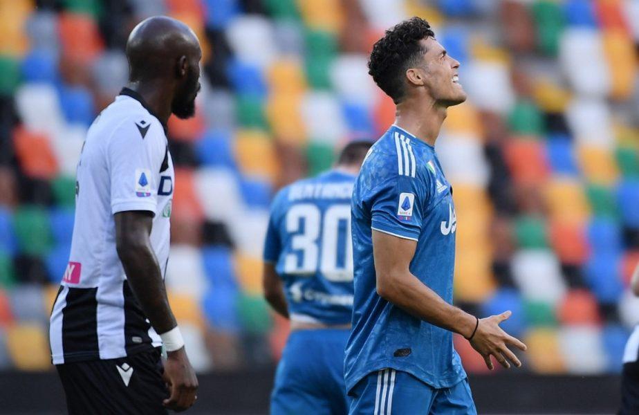 Udinese – Juventus 2-1. Fofana a înscris un gol superb în prelungiri. Bianconerii ratează o primă şansă de a-şi asigura titlul!
