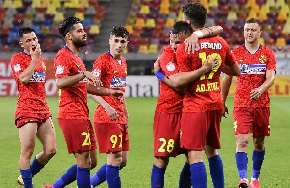 Gaz Metan – FCSB 0-1. Vînă a adus victoria echipei sale! Roş-albaştrii au ratat de trei ori singuri cu portarul