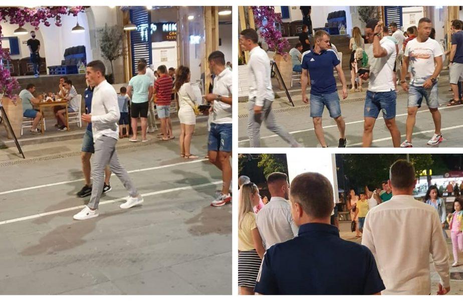 S-a plimbat pe faleză printre mii de turişti cu câteva ore înainte să arbitreze Viitorul – Chindia. Imagini incredibile cu Istvan Kovacs