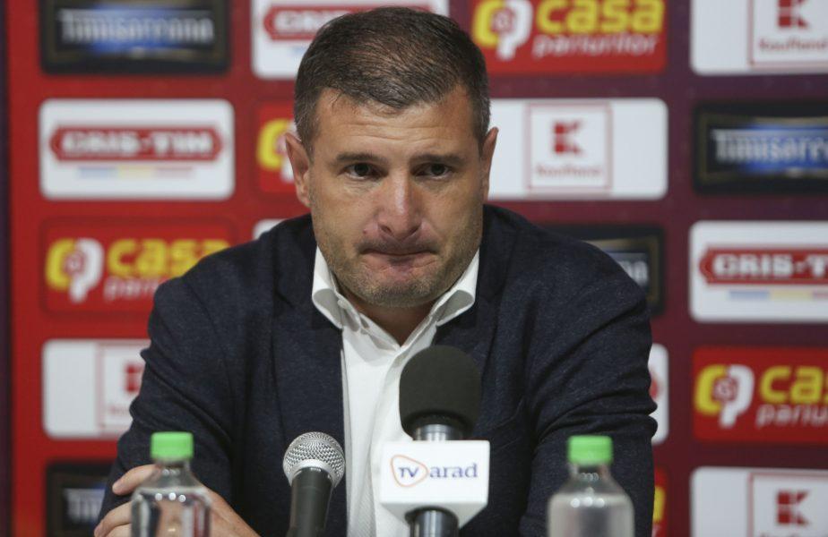 """Eliminarea din Cupă l-a scos din minţi! Va da afară din lot mai mulţi jucători: """"E o ruşine, foarte grav"""". Laszlo Balint nu a mai suportat"""