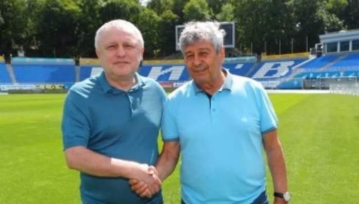 Prima reacţie a lui Igor Surkis, după ce Mircea Lucescu şi-a dat demisia de la Dinamo Kiev