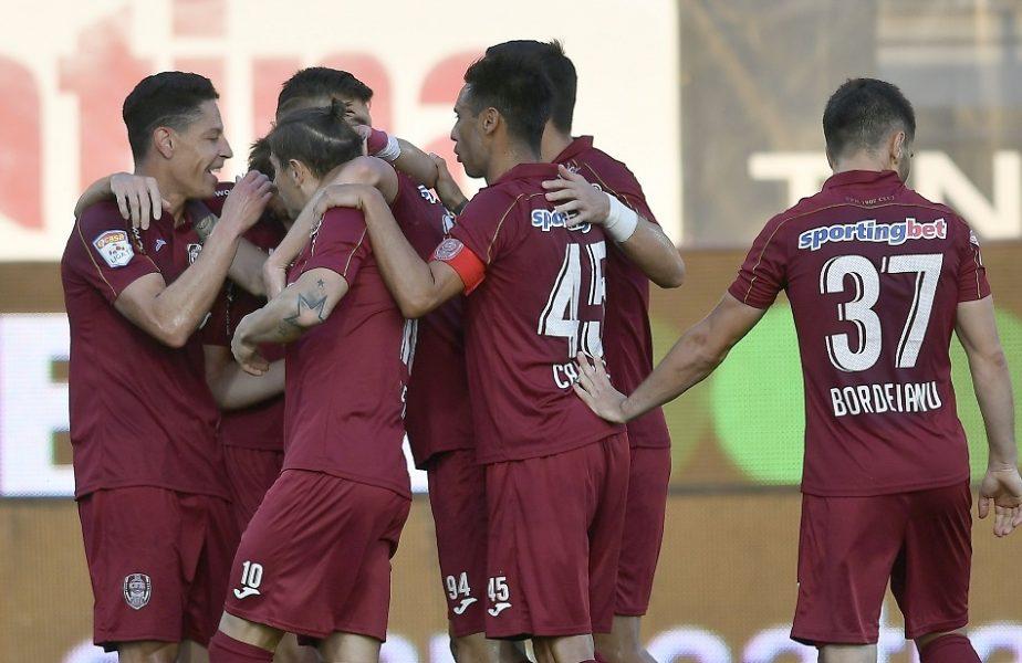 CFR Cluj – FC Botoşani 1-0. Ciprian Deac i-a apropiat pe ardeleni la un punct de Universitatea Craiova. Dan Petrescu nu a stat pe bancă