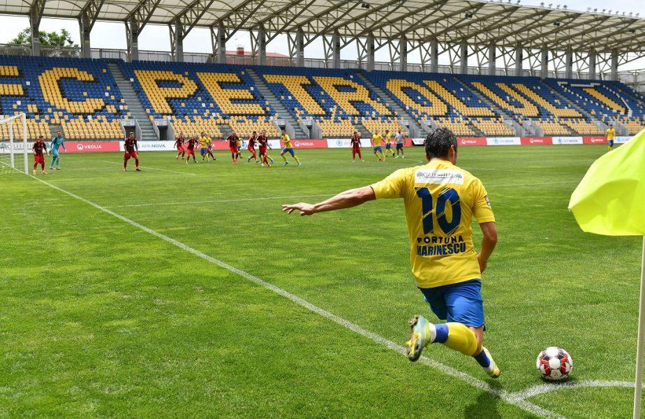 Petrolul Ploieşti – FC Argeş 1-2. Răsturnare incredibilă de scor. Petrolul nu mai are şanse la promovare, UTA mai are de aşteptat!