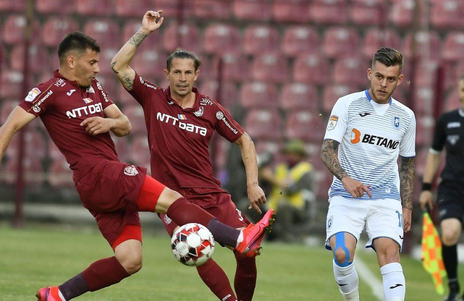 EXCLUSIV | COVID-19 a dat peste cap Liga 1! LPF şi FRF au luat legătura de urgenţă cu UEFA. Ce se întâmplă cu meciul dintre Craiova şi CFR