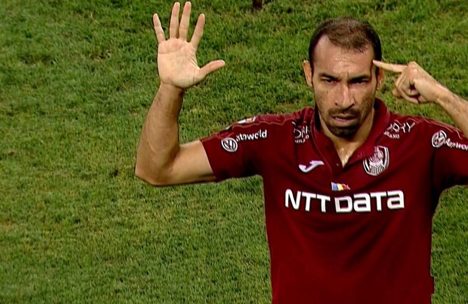Vinicius le-a stricat bucuria oltenilor. Reacţia de după gol a brazilianului a stârnit furia jucătorilor lui Bergodi
