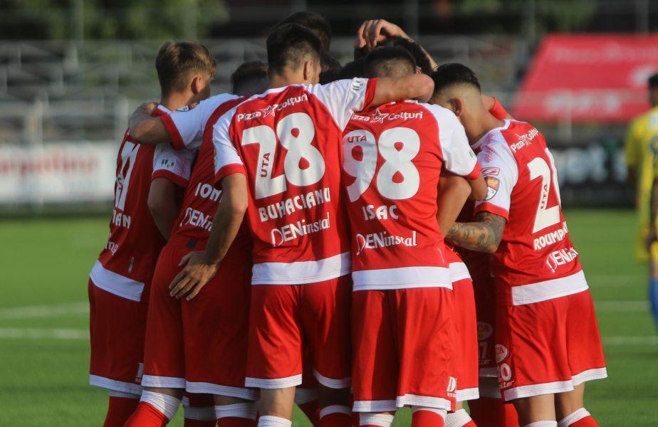 UTA, două lovituri pe piaţa transferurilor. Un campion al României şi un fost atacant de la FCSB au ajuns la Arad