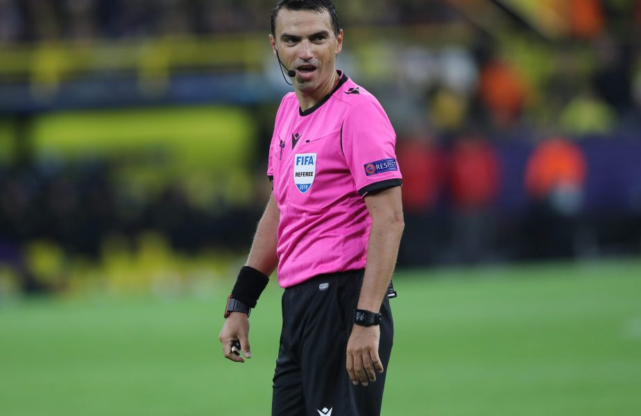 Ovidiu Haţegan, veste uriaşă după ce a fost la centru la şocul dintre Craiova şi CFR! Va arbitra un super-meci în Champions League
