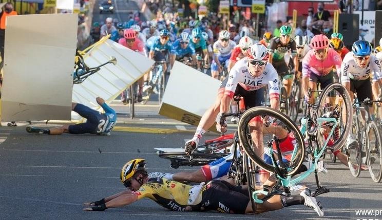 Ciclistul Fabio Jakobsen, scos din coma indusă! Primele veşti bune după accidentul groaznic în care a fost implicat