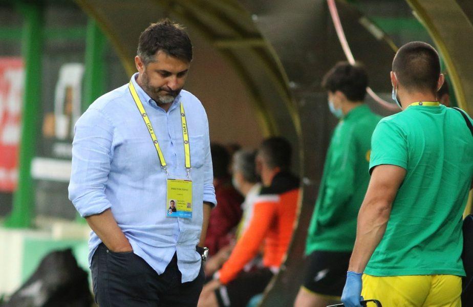 """Niculescu nu renunţă la Liga 1! """"Nu cedăm. Greşelile individuale şi-au spus cuvântul"""""""