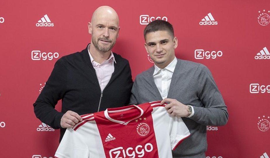 Răzvan Marin, aproape de Serie A. Ajax și-a dat acordul. Varianta exclusă de mijlocașul român