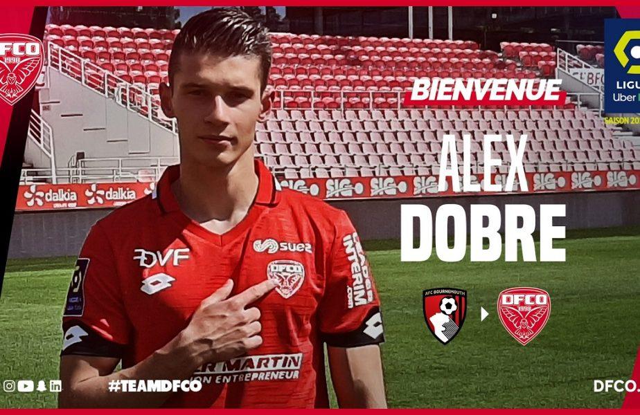 OFICIAL   Mai avem un român în Ligue 1. Alex Dobre a semnat cu Dijon. Mod inedit în care a fost anunţat transferul