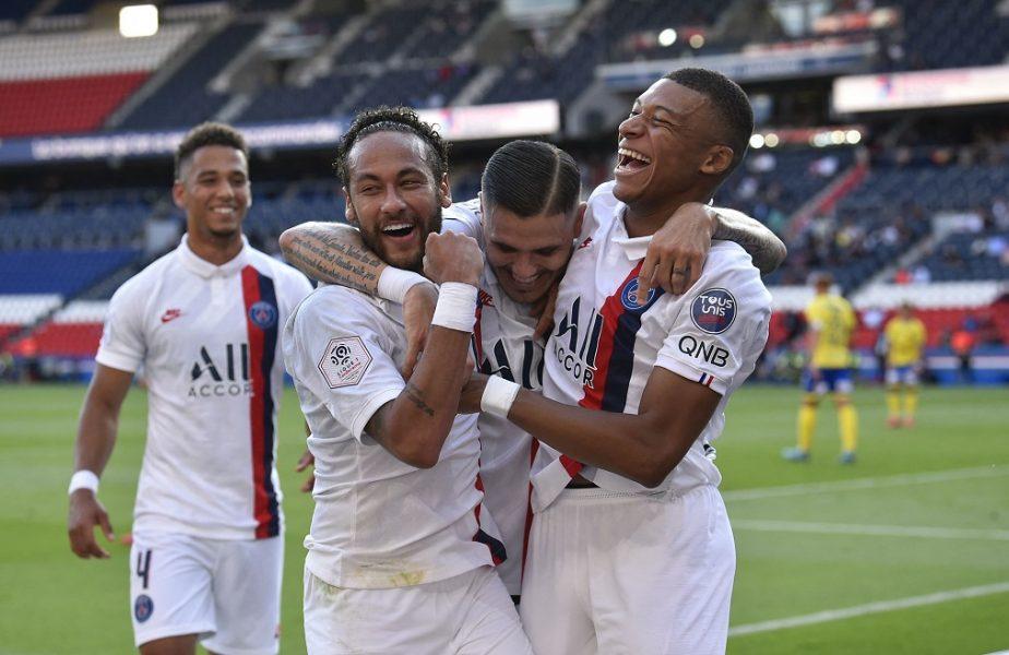 Preşedintele PSG, în extaz după calificarea în semifinale! Neymar şi Mbappe, contracte pe viaţă la Paris. Gest superb făcut de brazilian
