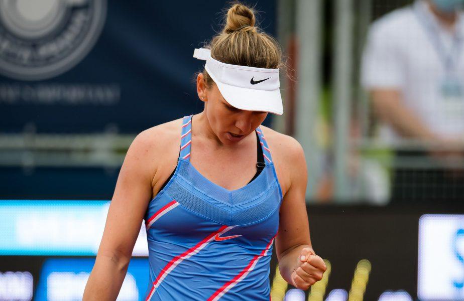 FINAL Simona Halep – Barbora Krejcikova 3-6. 7-5. 6-2.  Simona o învinge pe Krejcikova după un meci dificil şi se califică în sferturi