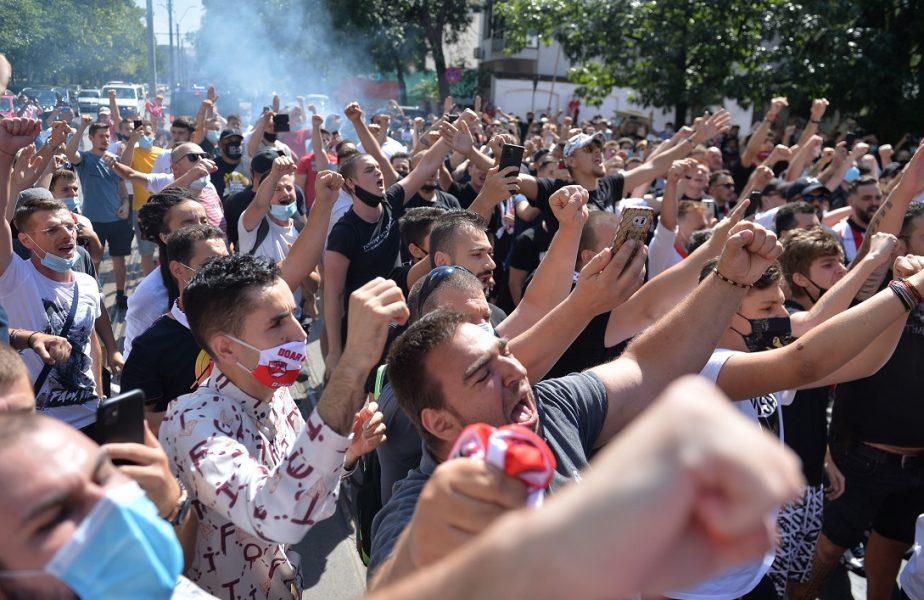 Fanii din DDB, daţi la o parte de Negoiţă! Suporterii ameninţă cu proteste