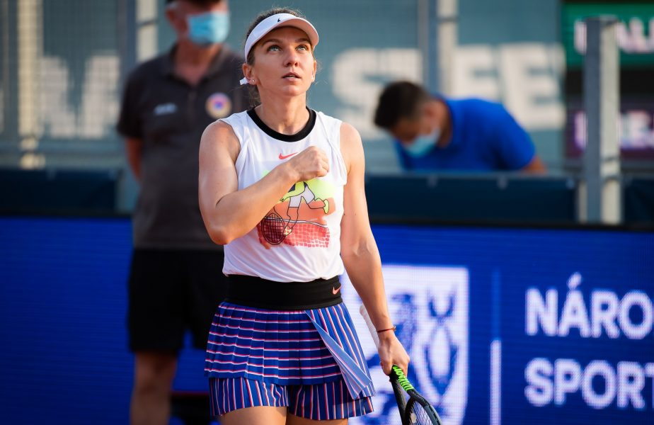 Simona Halep – Magdalena Frech 6-2, 6-0. Victorie categorică pentru Simona. Românca s-a calificat în semifinalele turneului de la Praga