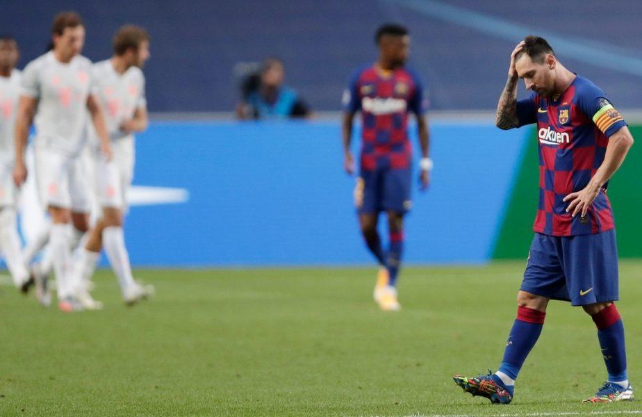 """Repriză de coşmar şi record negativ pentru Barcelona. Patru goluri primite în mai puţin de jumătate de oră! Muller, """"călăul"""" catalanilor"""