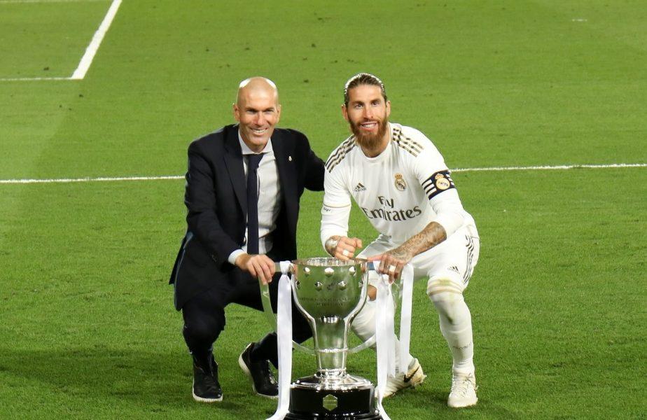 Zidane şi Ramos