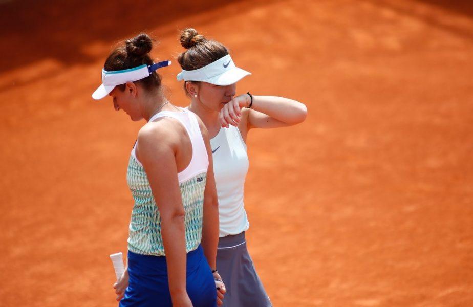 """Simona Halep – Irina Begu 7-6, 6-3. """"Simo"""" s-a calificat în finala turneului de la Praga, acolo unde o va întâlni pe Elise Mertens"""