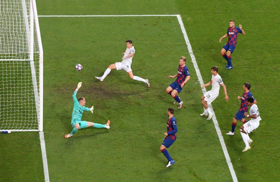 """""""Afară, mercenarilor! Rușinea celor 121 de ani de istorie"""" Fanii Barcelonei au făcut scandal după umilinţa cu Bayern"""