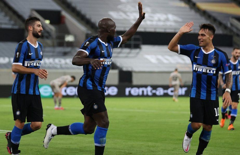 """Inter – Şahtior 5-0. Umilinţă pentru ucraineni. Lautaro Martinez şi Lukaku au înscris câte o """"dublă"""". Italienii se vor duela cu Sevilla în finala Europa League"""