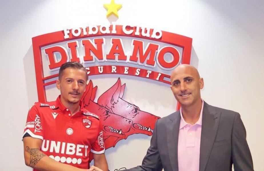 Oficial   Vlad Achim este primul transfer făcut de Dinamo în era spaniolă