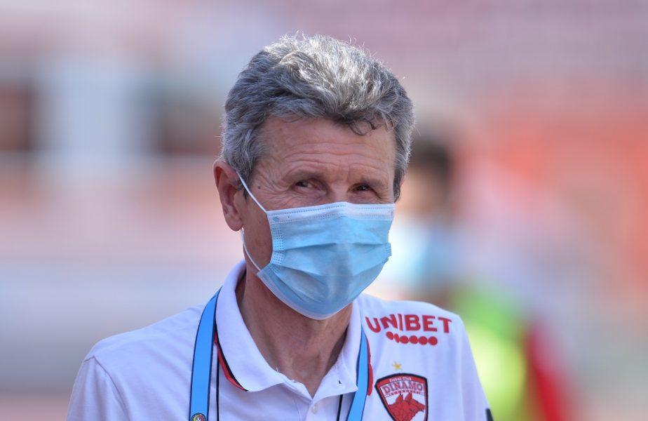 """Mulţescu nu e băgat în seamă de conducătorii de la Dinamo! """"Le-am dat o listă cu jucători"""". Răspunsul primit l-a lăsat mască"""