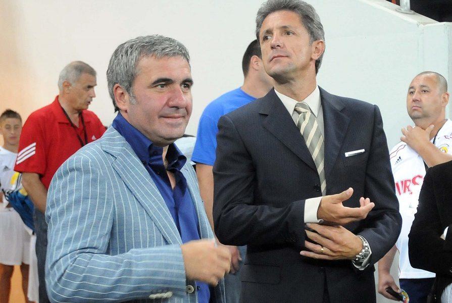 Cum a trăit Hagi debutul noului antrenor de la Vitorul! Gică Popescu a dat din casă