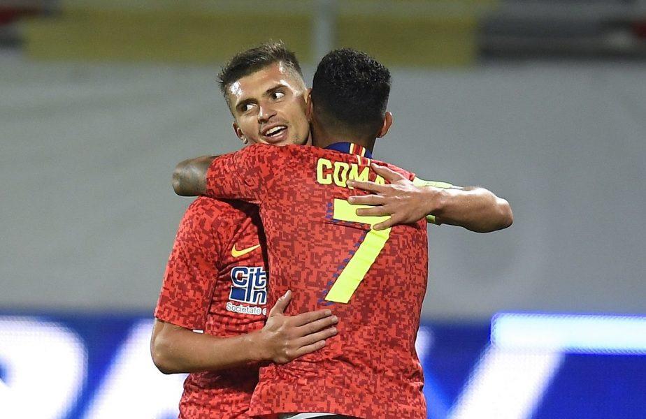 Topul golgheterilor din Europa! Florin Tănase, printre cei mai prolifici jucători. Căpitanul FCSB este peste Kane, Benzema sau Salah