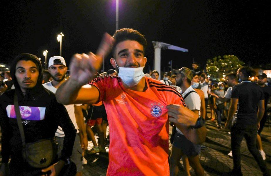CE UMILINŢĂ! Fanii lui Olympique Marseille au ieşit în stradă pentru a sărbători înfrângerea lui PSG în finala Champions League