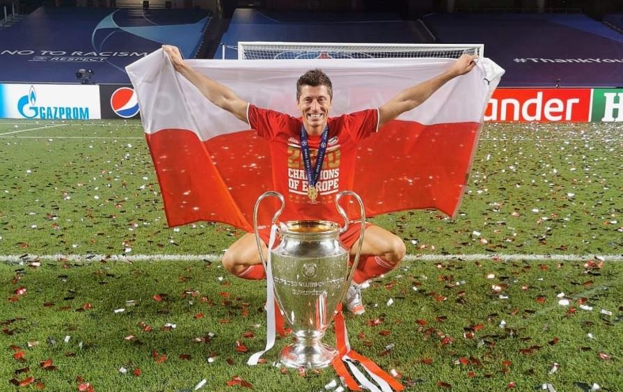 Mesajul lui Lewandowski după primul trofeul Champions League cucerit. Ce a postat polonezul