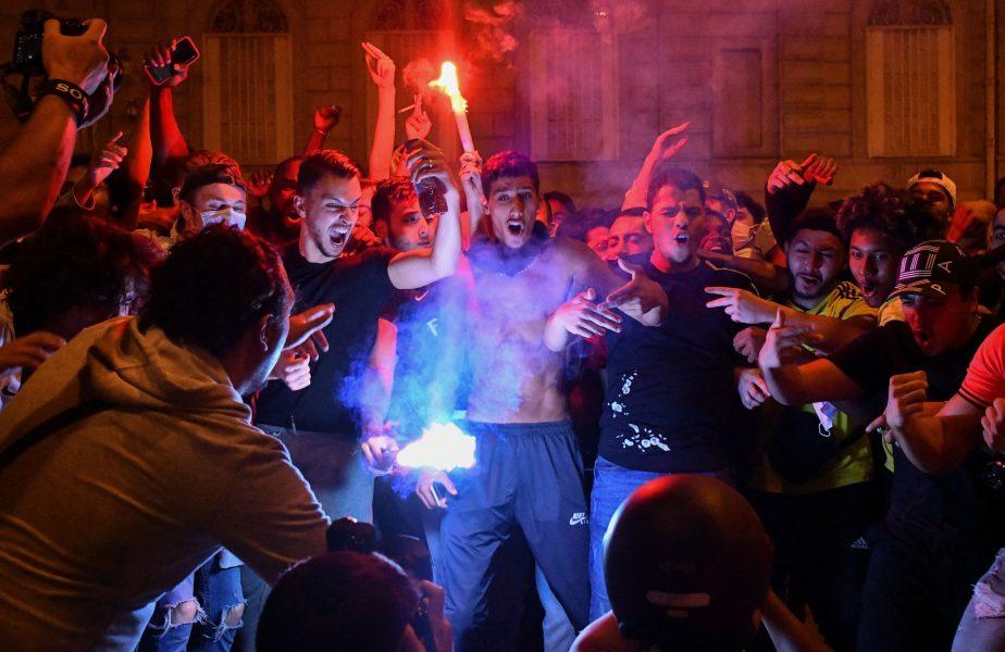 Torţe, artificii şi gaze lacrimogene la Paris, după Bayern – PSG 1-0