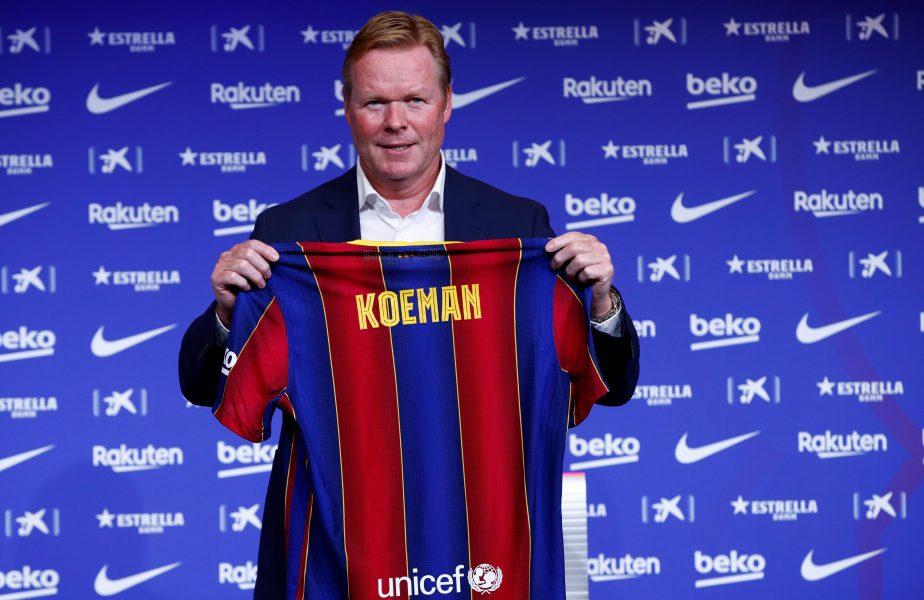 Koeman taie în carne vie la Barcelona! Patru staruri vor pleca de pe Camp Nou. Olandezul le-a transmis să îşi caute echipă