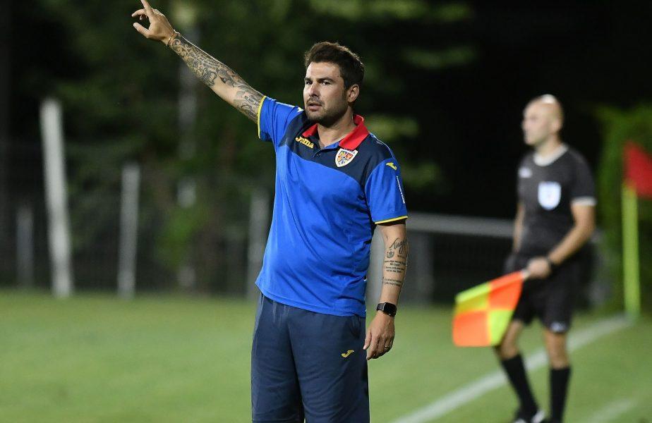 Rămâne România U21 fără antrenor înainte de preliminarii? Adi Mutu, pe lista finală a unui club din Italia
