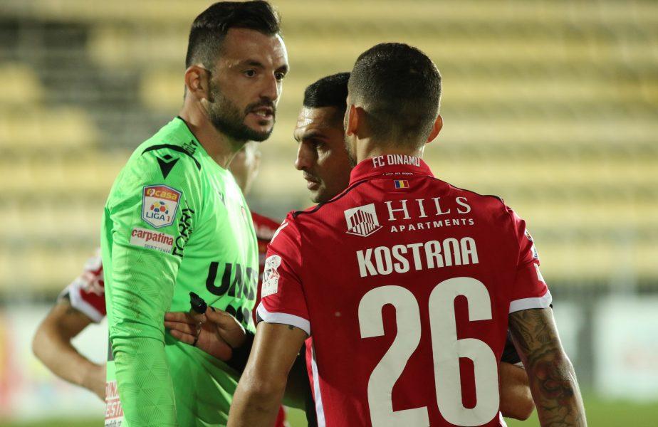 """Jucătorii îi dau """"interzis"""" lui Cosmin Contra la Dinamo: """"Ştim că rămâne domnul Mulţescu şi suntem alături de el"""""""