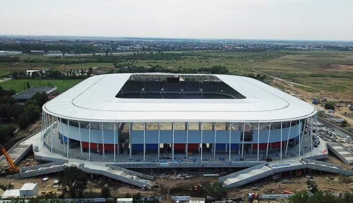 Stadionul Steaua este aproape gata! Data la care arena din Ghencea ar putea fi inaugurată