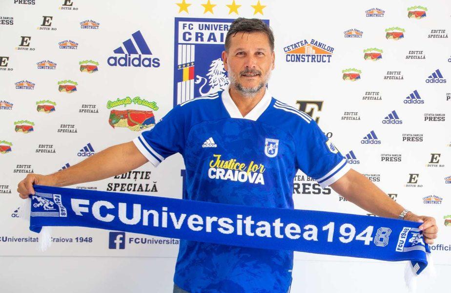 OFICIAL! Adrian Mititelu a pus un nou antrenor! Nicolo Napoli a revenit la FC U Craiova