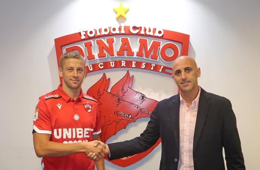 Al doilea transfer făcut de spanioli la Dinamo! Janusz Gol a fost prezentat oficial