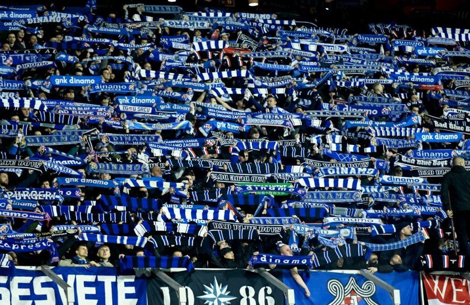 Alertă la Cluj! Ultraşii lui Dinamo Zagreb sosesc înainte de meci! Autorităţile sunt pregătite