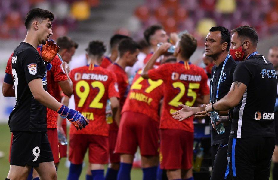 Lotul FCSB pentru debutul în noul sezon de Europa League! Primul 11 pe care-l va trimite în teren staff-ul roș-albastrilor
